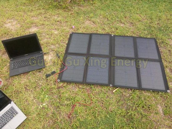 80W Foldable Solar Laptop Charger