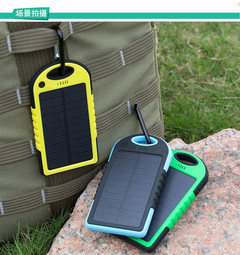 5000mah Portable Solar Charger for Phones