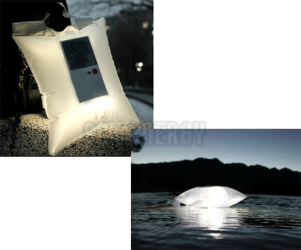 Inflatable Solar LED Camping Light