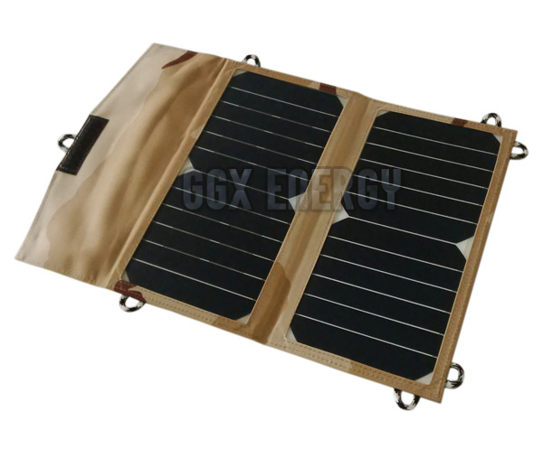 14 Watt 5V 2xUSB SUNPOWER Solar Backpack Portable Solar Charger for iPhone/Samsung/LG/Power Bank/iPad
