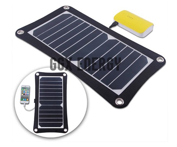 6 5 Watt Portable Solar Cell Panel Charger for Hiking
